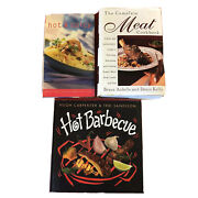 3 Spicy And Meat Cook Books Recipes Hot Barbecue Bbq Steak Ribs Thai Spice Lot