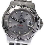 Tudor Hydro Note 89190 Silver Dial Automatic Men's Watch_644940
