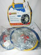 Les Schwab Quick Fit Sport Lt Tire Snow Chains, Stock 2319-s, Never Used