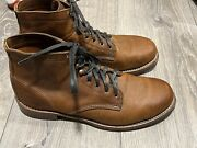 Wolverine 1000 Mile X Harley Davidson Sinclair Brown Leather Boots