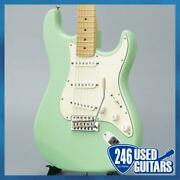 Fender American Special Stratocaster Surf Green/m Electric Guitar
