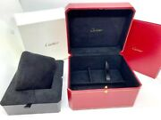 Red Watch Empty Box With Booklet Size W15andtimesh9andtimesd13cm Crco000426