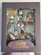 Disney Mickey Mouse Through The Years Christmas Ornaments Storybook