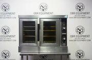 Hobart Single Deck Full Size Natural Gas Convection Oven Model Hgc501
