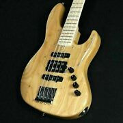 Atelier Z Beta 4 D Plus Custom Natural Used Made In Japan Maple Neck W/soft Case