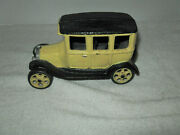 Antique 1926 Cast Iron Ford Model T Jm 137 Toy Car Over 2 Lbs 6 Length