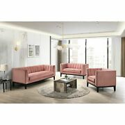 Picket House Furnishings Calabasas 3pc Living Room Set In Rose Uci36823pc