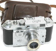 Italy Bilux Iso Ca.1949. Film Camera Full Working With Case