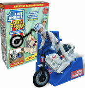Evel Knievel Stunt Cycle Retro 70's Ideal Toys Motorcycle New Post 22 Oct