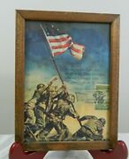 Wwii 1945 Usmc Iwo Jima 3 C Stamp 929 On Picture Canceled Grand Central Station