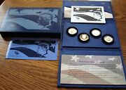 2014 50th Anniversary Kennedy Half-dollar Silver Four Coin Collection - Us Mint
