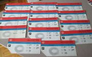 1976 Montreal Olympics Used Tickets Lot Of 22 With Map