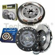 Sachs 3 Part Clutch Kit And Luk Dmf For Audi A4 Berlina 1.8 T