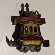 Fontaine Fox Toonerville Trolley Tin Penny Toy 1922 Small Version 1.75 Long