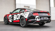Borla Atak 2018-2021 Ford Mustang Gt Coupe 5.0l V8 Valved Catback Exhaust System