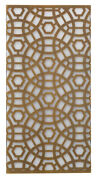 Jamie Young Large Geo Wall Sconce In Antique Brass 4geo-lgab