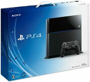 Playstation 4 Jet Black 500gb Cuh-1000ab01 [manufacturer Discontinued]