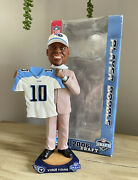 Vince Young Tennessee Titans / Texas Longhorns 2006 Nfl Draft Day Bobblehead Nib