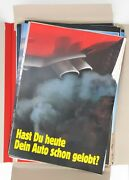 Klaus Staeck - 120 Political Posters And Signed Box Of Postcards