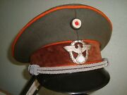 German Police Officerand039s Deluxe Hat --exc Size 59