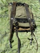 Vintage Ww2 German Army Mountain Troops Soldierand039s Uniform Back Pack