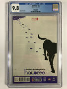 Hawkeye 11 2nd Second Print Cgc 9.8 Nm+ Lucky The Pizza Dog 1st Solo Disney+
