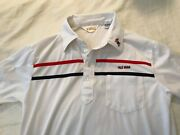 Vintage Ole Miss Polo Sahara Brand Colonel Reb On Collar Size M