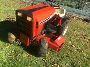 Case 220 Hydriv Tractor Including Snow Thrower 48 Mower Deck And Chains