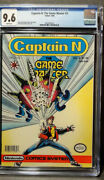 Captain N The Game Master 3 Cgc 9.6 Nm+ Nintendo Comic Systems W/ps
