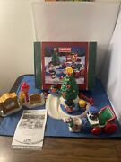 Fisher Price Little People Christmas Tree Lighting In Discovery Park Complete