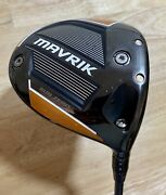 Callaway Mavrik Subzero 9 Driver And Evenflow Riptide Shaft -other Opt Avail + Hc