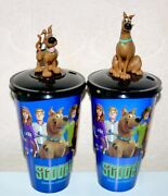 Cup Topper Figures Scooby Doo Full Set + Collectible Movie Cups