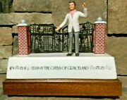 Elvis Presley -elvis And The Gates Of Graceland Mccormick Decanter In Ob Empty