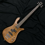 Brand New Warwick Team Built Streamer Stage I Brown Free Shipping