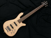 Outlet Warwick Team Built Streamer Lx 5 Mt Natural Satin Free Shipping