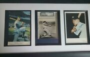 Gorgeous Mickey Mantle And Roger Maris Autographed Photos3 Jsa Great Display