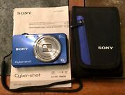 Sony Cyber Shot G Exmor R 18.2 Mega Pixels Dsc-wx150 Camera With Case And Manual