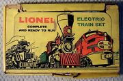 Lionel Pw Steam Freight Set 1613s W/ Xmas Tree Flat Carlionel Catalog And Set Box
