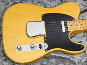 Fender Usa American 52 Vintage Telecaster Thin Lacquer Btb Used 2008 W/hard Case