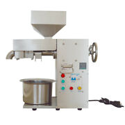 Commercial Electric Hot And Cold Oil Press Machine Kiitchen Equipment Restaurant