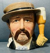 Vintage Royal Doulton Wild Bill Hickock Character Jug D6736 Wild West Collection