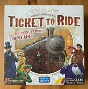 Ticket To Ride 15th Anniversary Edition - Rare New In Shrink Limited Edition