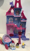 Fisher-price Little People Disney Cinderella Princess Magical Wand Palace Castle