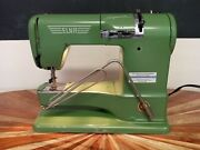 Elna Supermatic Portable Sewing Machine Type 722010 / With Case
