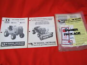 1976 Wheel Horse D-200 Owners Manual