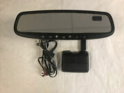 Mazda Auto Dimm Homelink And Compass Rear View Mirror With Rain Sensor Cover