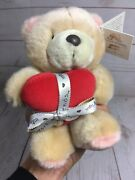 8 Forever Friends Hallmark Plush Teddy Bear Red Heart Rare Collectible W/ Tag