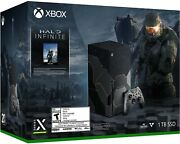 ✅xbox Series X- Halo Infinite Limited Edition Confirmed Pre-order Ships 11/20