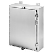 Hoffman A3642410sslp Wallmount Hinged With Nema Clamps Type 4x Enclosure