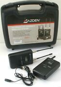 Azden 310 Series Uhf Diversity Wireless System Includes 35bt And 310udr